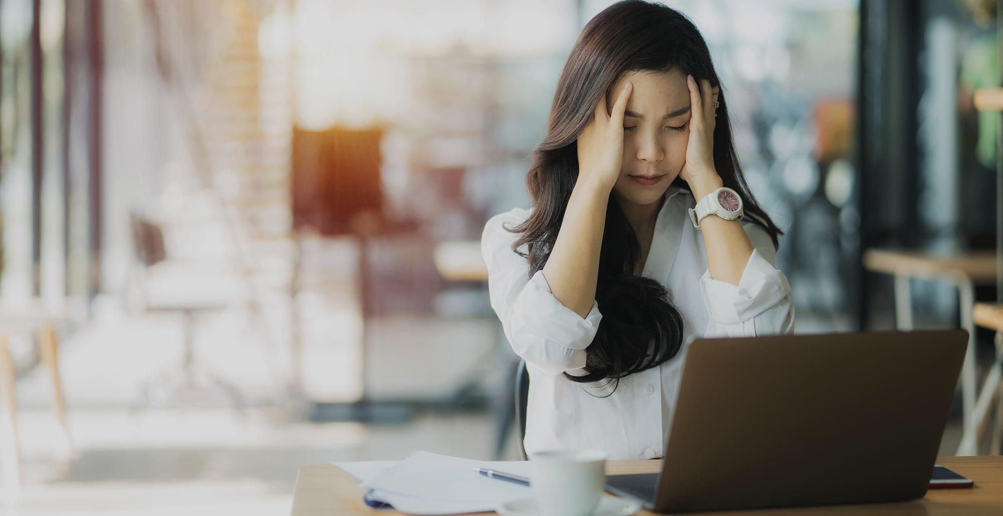Work stress is on the rise